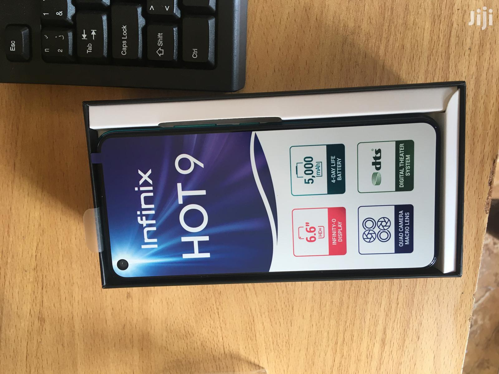 New Infinix Hot 9 32 GB Blue   Mobile Phones for sale in Kampala, Central Region, Uganda