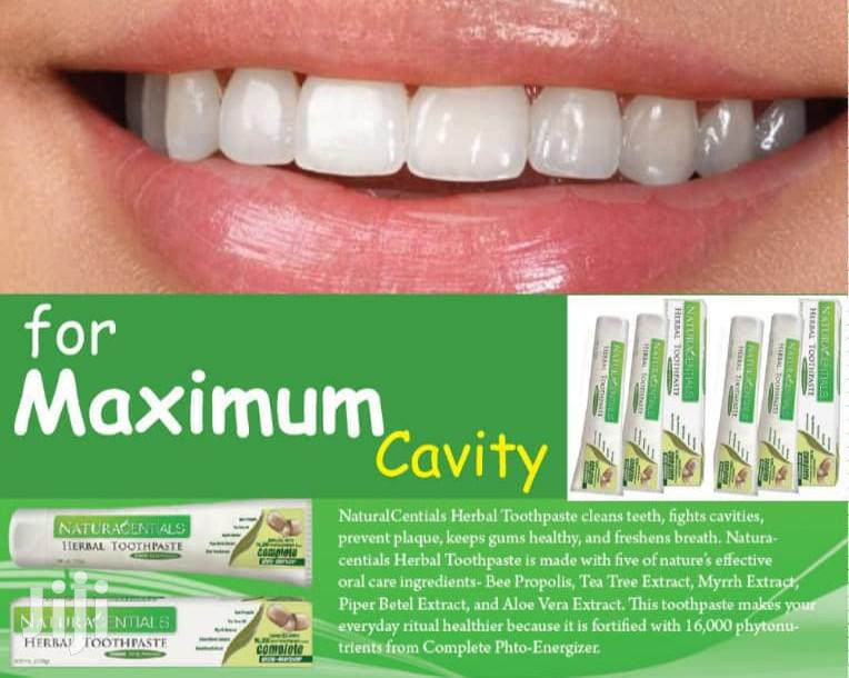 The Naturacential Herbal Toothpaste