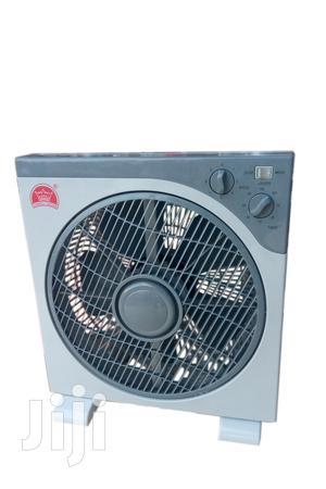 Changli Crown Box Fan Gray