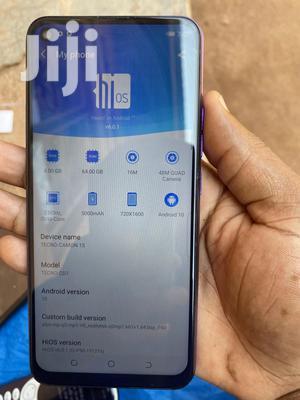 Tecno Camon 15 64 GB Blue   Mobile Phones for sale in Central Region, Kampala