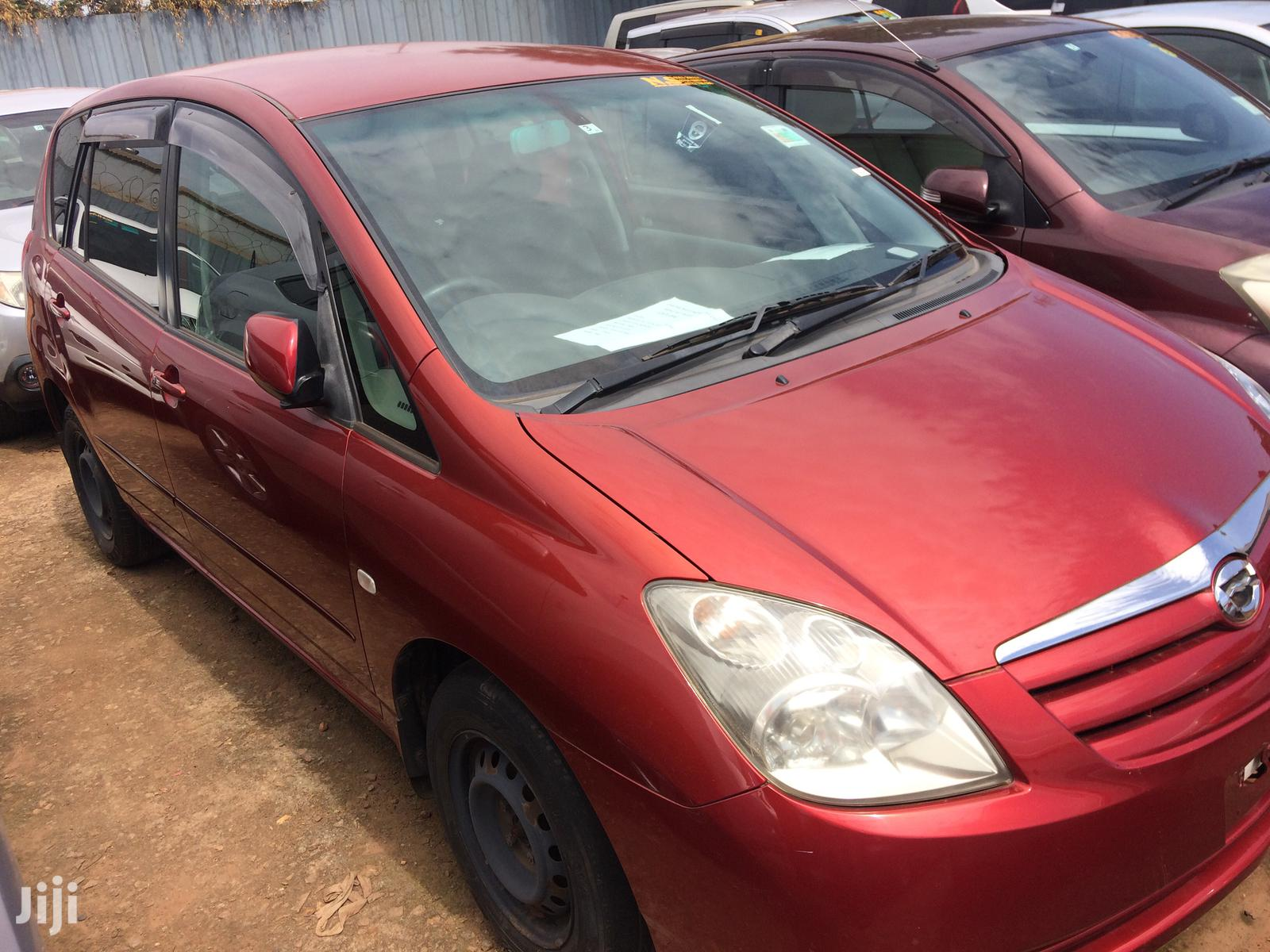 Toyota Spacio 2009 Red