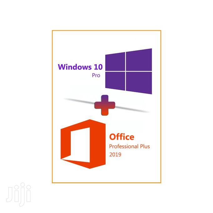 Archive: Microsoft Windows 10 With Inbuilt Office 2019