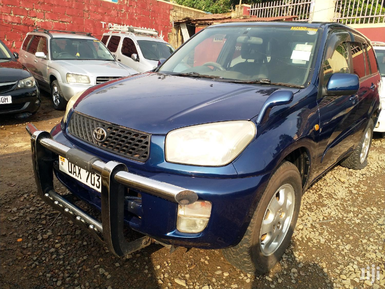 Toyota RAV4 Automatic 2002 Blue   Cars for sale in Kampala, Central Region, Uganda
