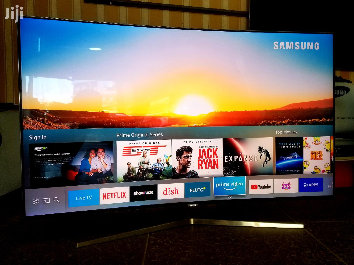 Samsung 55inches QLED Curved Series 9 Super UHD 4k Tv
