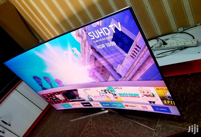 Samsung 55inches QLED Curved Series 9 Super UHD 4k Tv | TV & DVD Equipment for sale in Kampala, Central Region, Uganda
