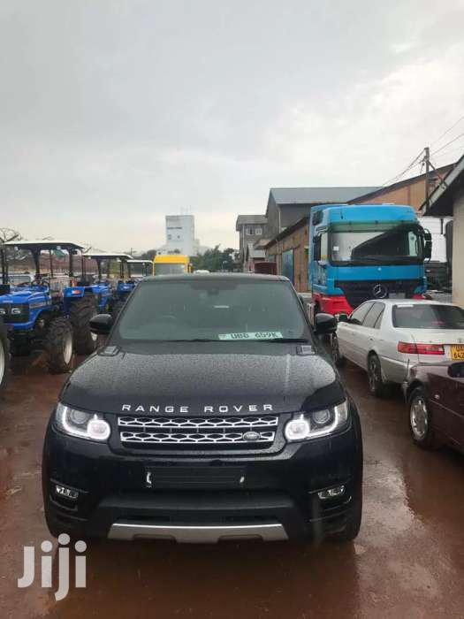 Land Rover Range Rover Sport 2016 Black