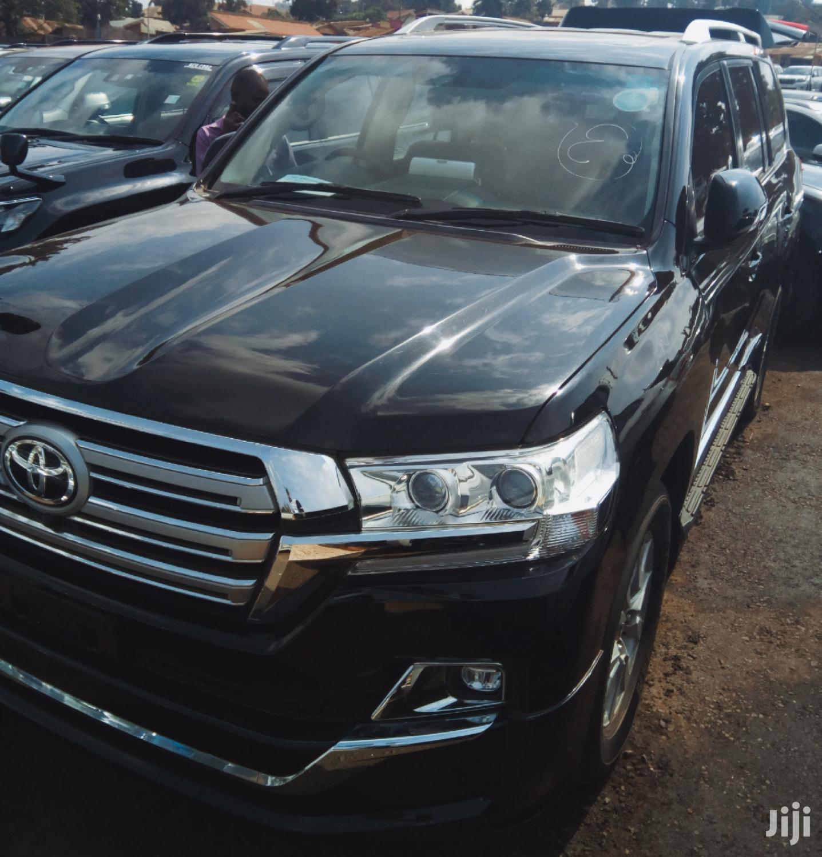 Toyota Land Cruiser 2015 Black