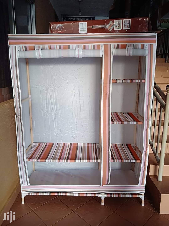 Original Wooden Frame Wardrobe With Zip