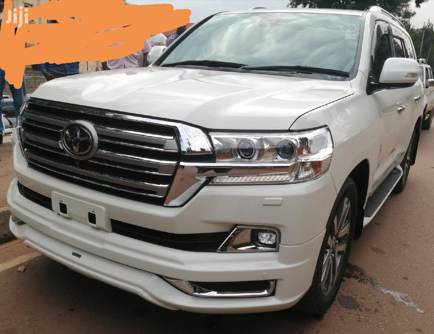 New Toyota Land Cruiser 2016 White | Cars for sale in Kampala, Central Region, Uganda