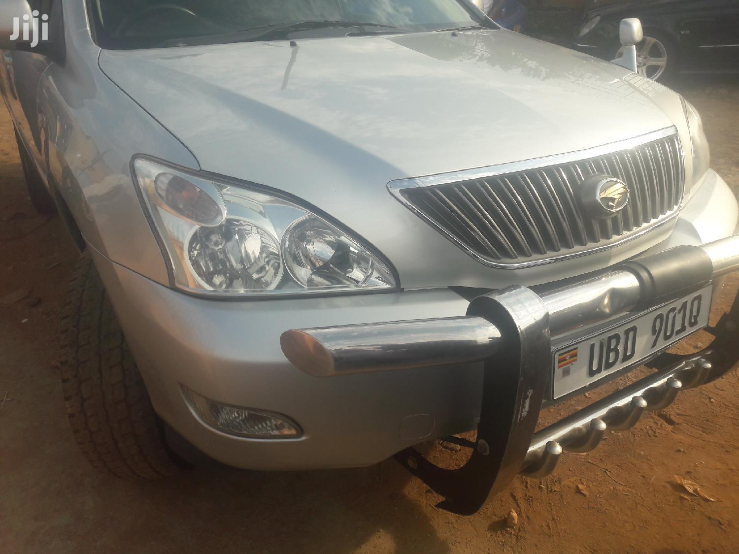 Toyota Harrier 2003 Silver