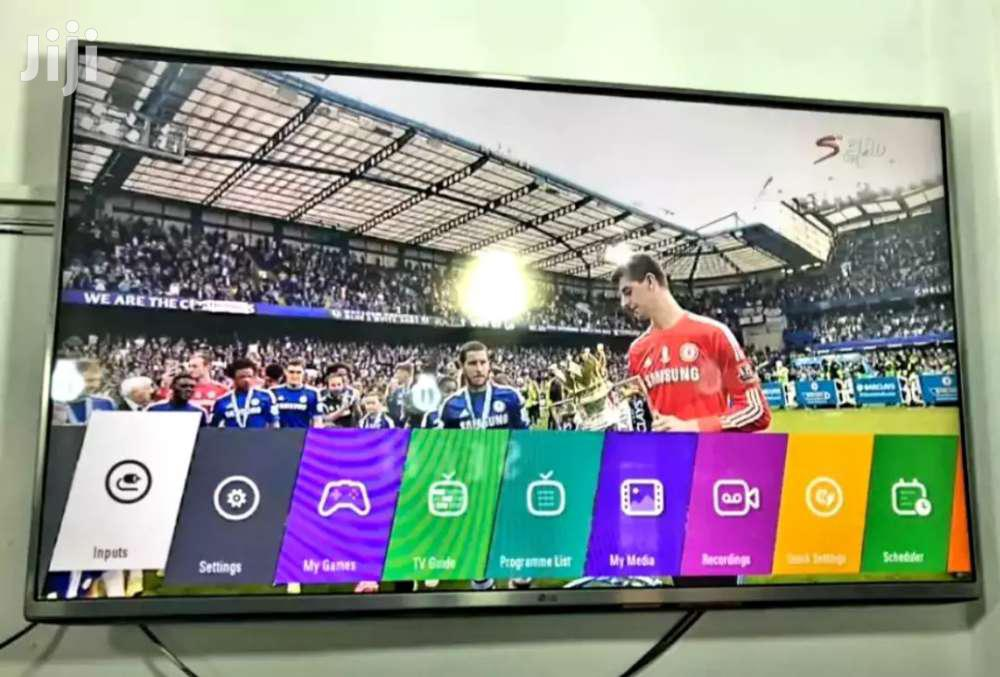 LG Flat Screen TV 43 Inches | TV & DVD Equipment for sale in Kampala, Central Region, Uganda