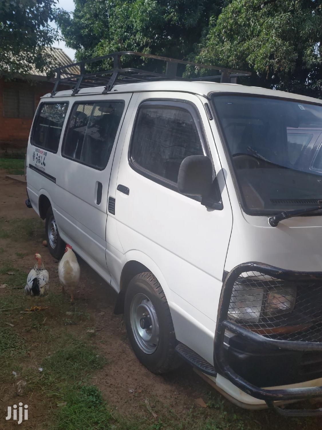 Archive: Toyota Hiace Van 1993 White For Sale