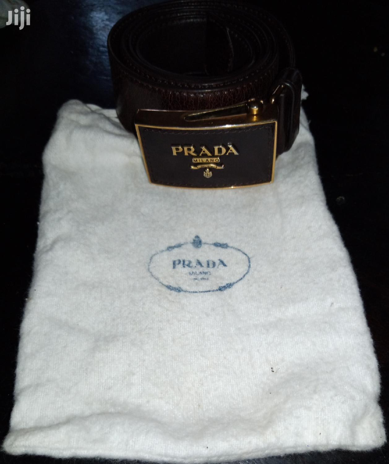 Prada Milano Adjustable Belt | Clothing Accessories for sale in Kampala, Central Region, Uganda