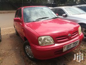 Nissan March 1997 Red