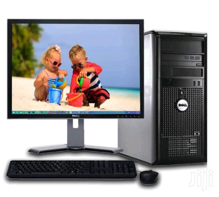 Desktop Computer Dell 2GB Intel Core 2 Duo HDD 160GB | Laptops & Computers for sale in Kampala, Central Region, Uganda