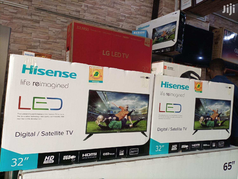 Hisense LED 32 Inches Digital/Satellite Flat Screen Tv. | TV & DVD Equipment for sale in Kampala, Central Region, Uganda