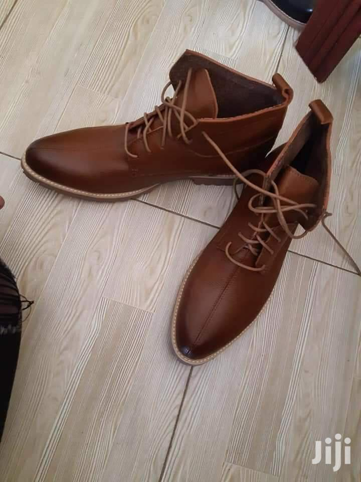 Archive: Men Leather Boot Shoes