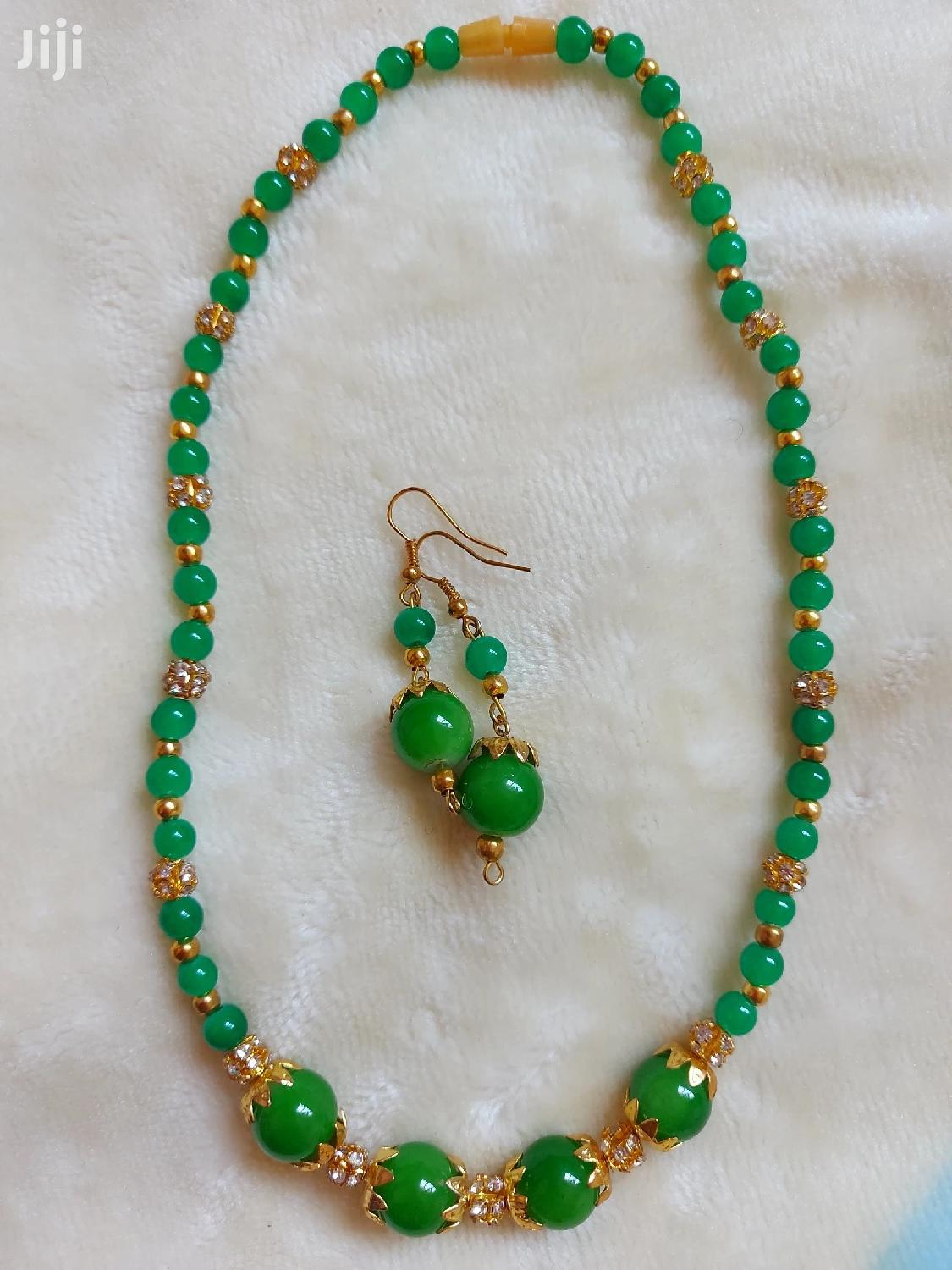 Collar Necklace With Earnings | Jewelry for sale in Kampala, Central Region, Uganda