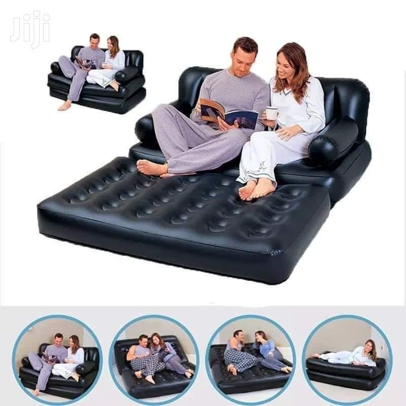 5in1 Inflatable Sofa And Mattress