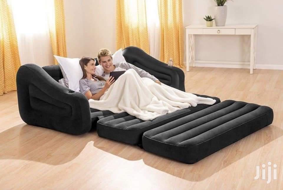 Inflatable Pullout Intex Sofa And Bed | Furniture for sale in Kampala, Central Region, Uganda