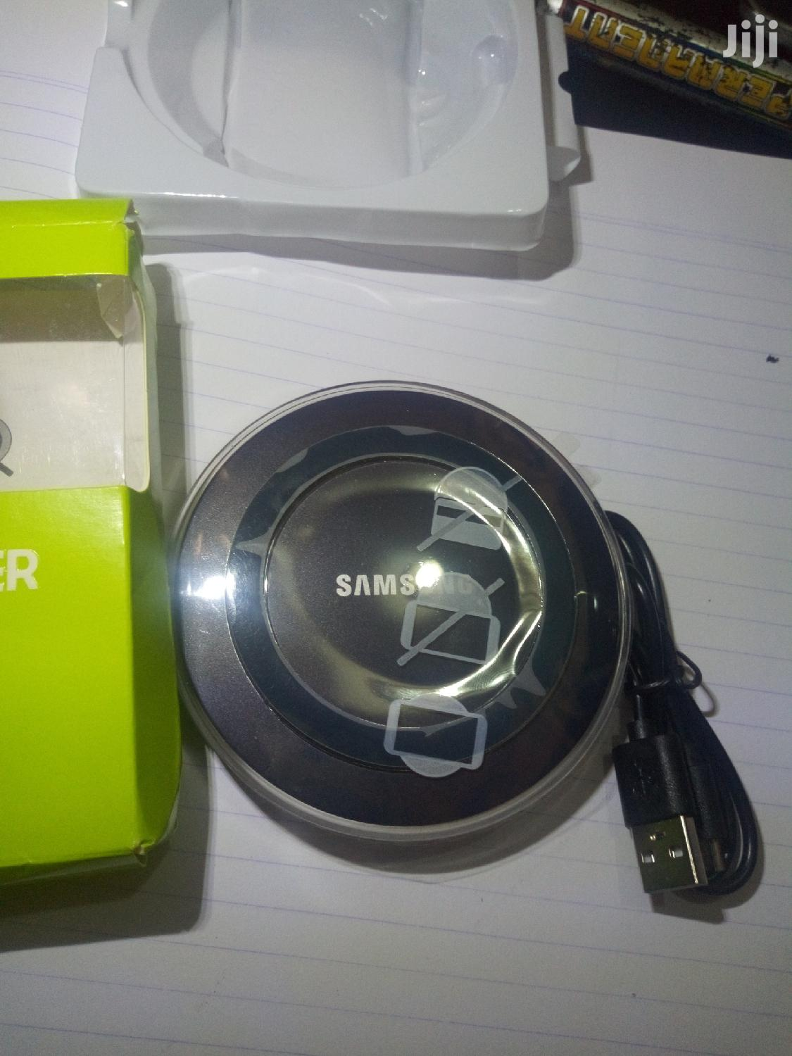 Original Samsung Wireless Charger Adapter Charger   Accessories for Mobile Phones & Tablets for sale in Kampala, Central Region, Uganda