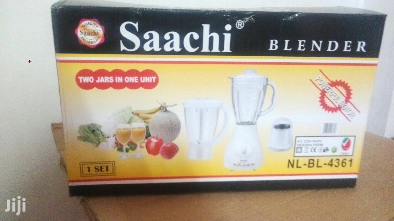 Archive: Saachi Blender