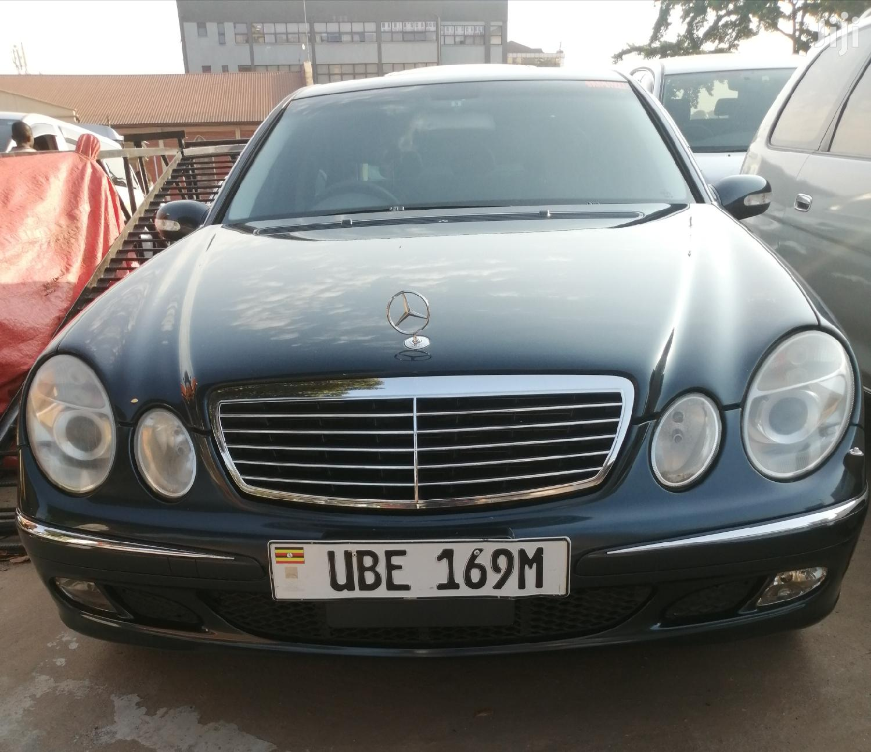 Mercedes-Benz E240 2006 Black