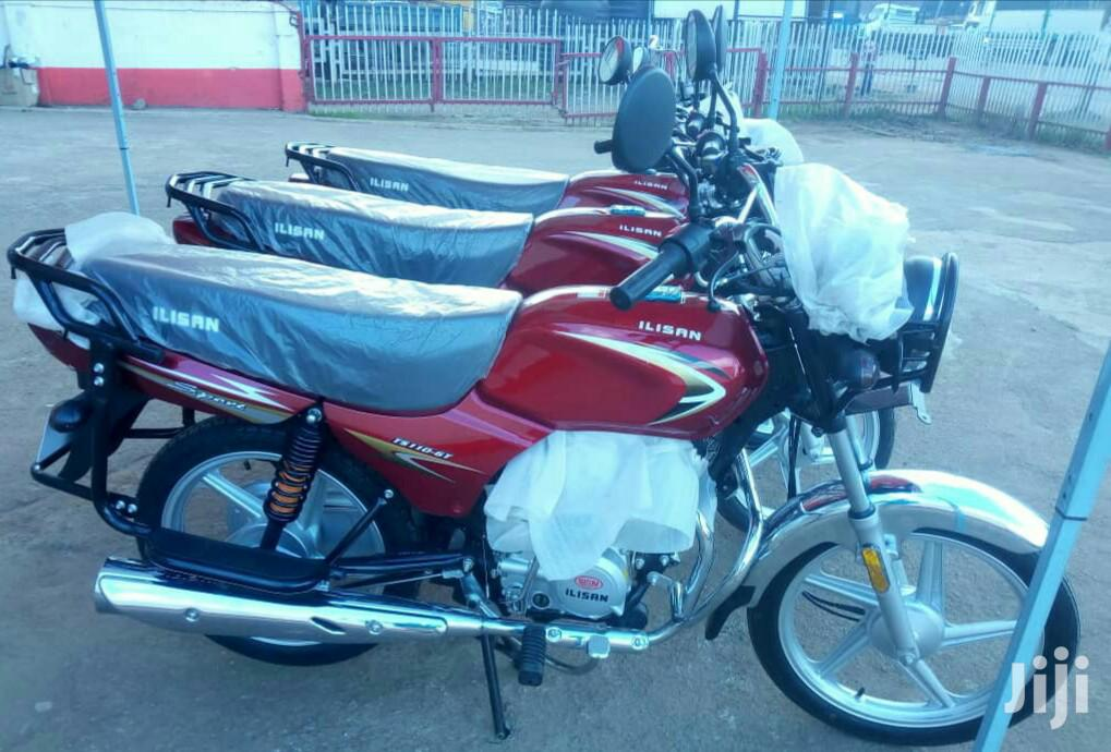 Archive: New Motorcycle 2019 Red