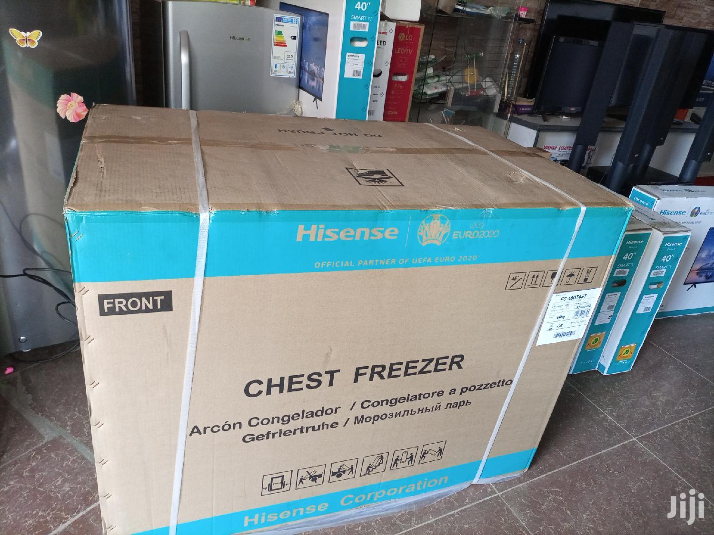 Hisense 400 Litres Chest Freezer.