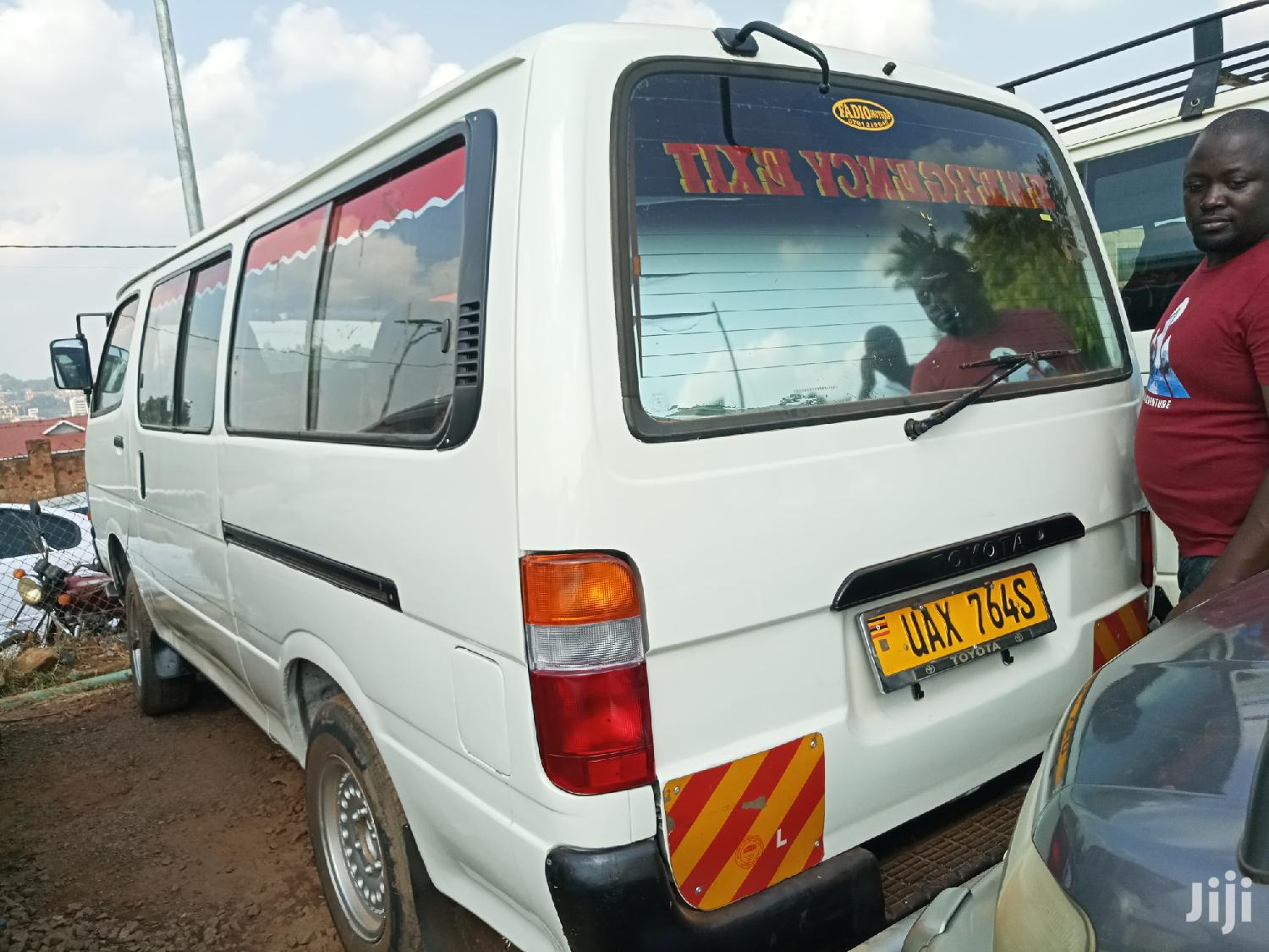 Archive: Toyota Hiace 1998 White