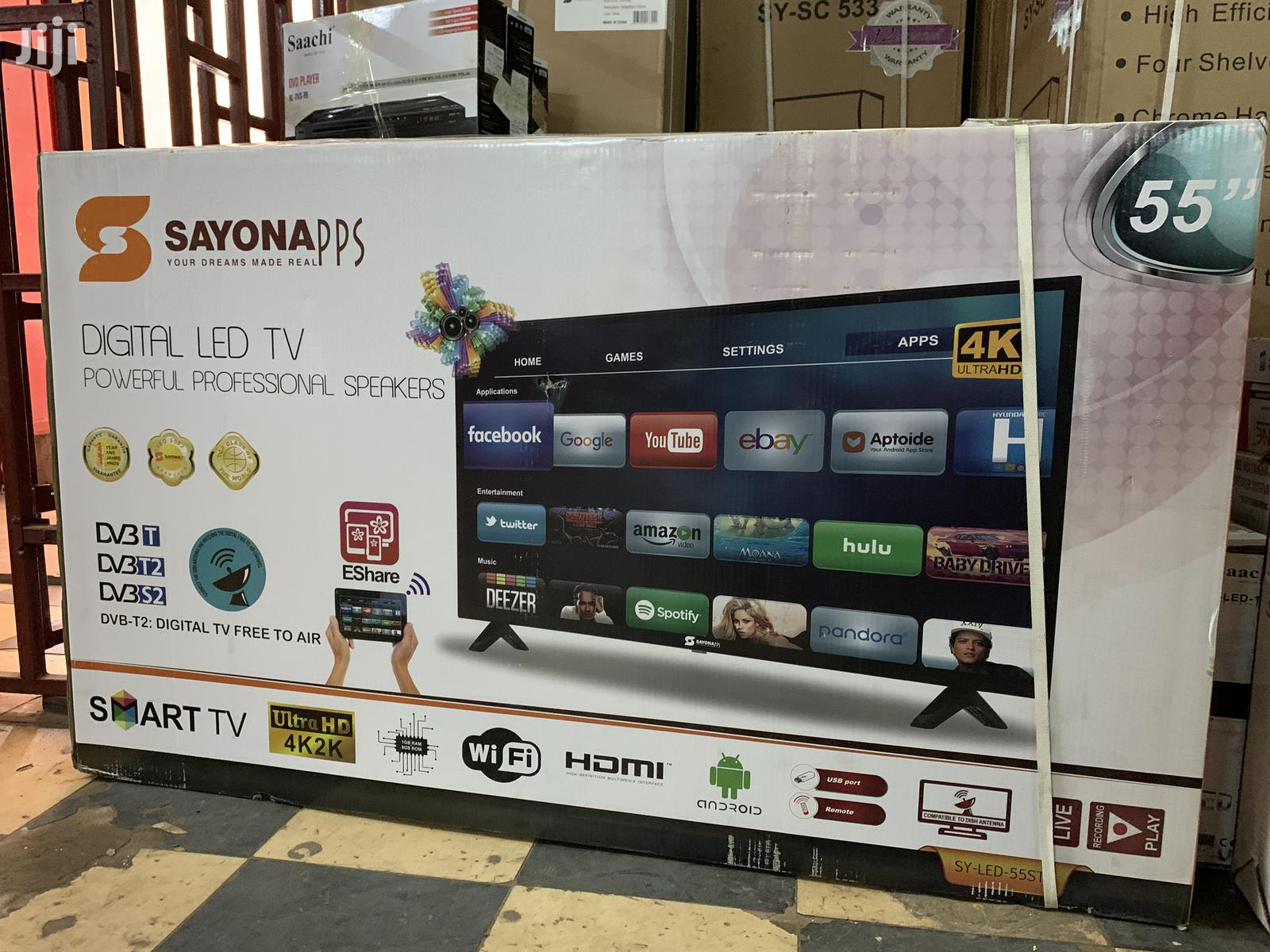 55 Inches Smart Android Tv Sayona