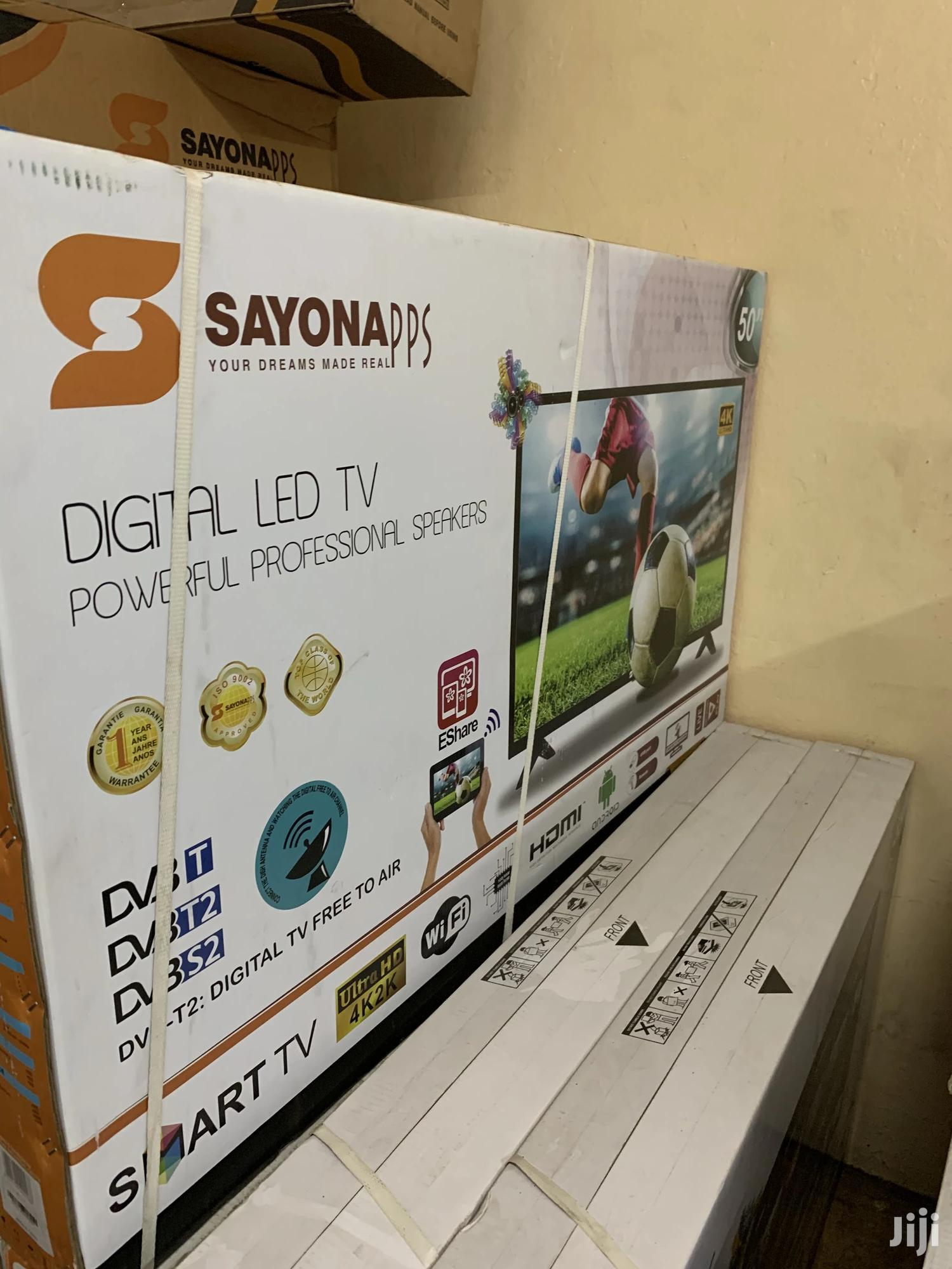 50 Inch Smart Android Sayona LED TV