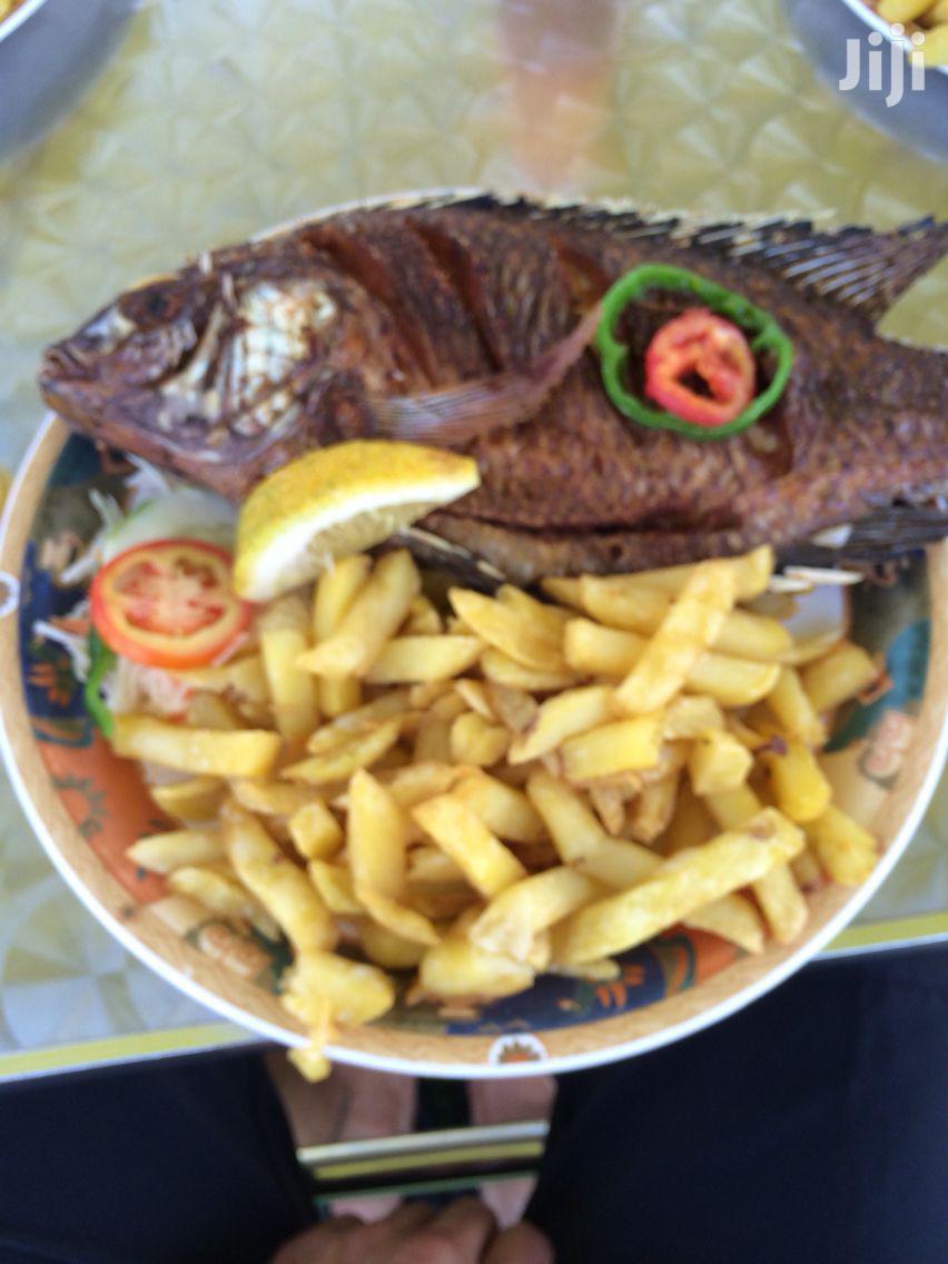 Fresh Deep Fried Fish