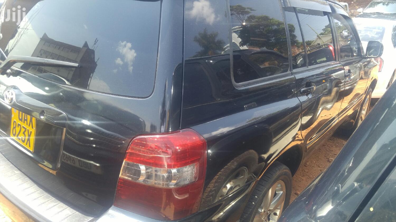 Toyota Kluger 2002 Black   Cars for sale in Kampala, Central Region, Uganda
