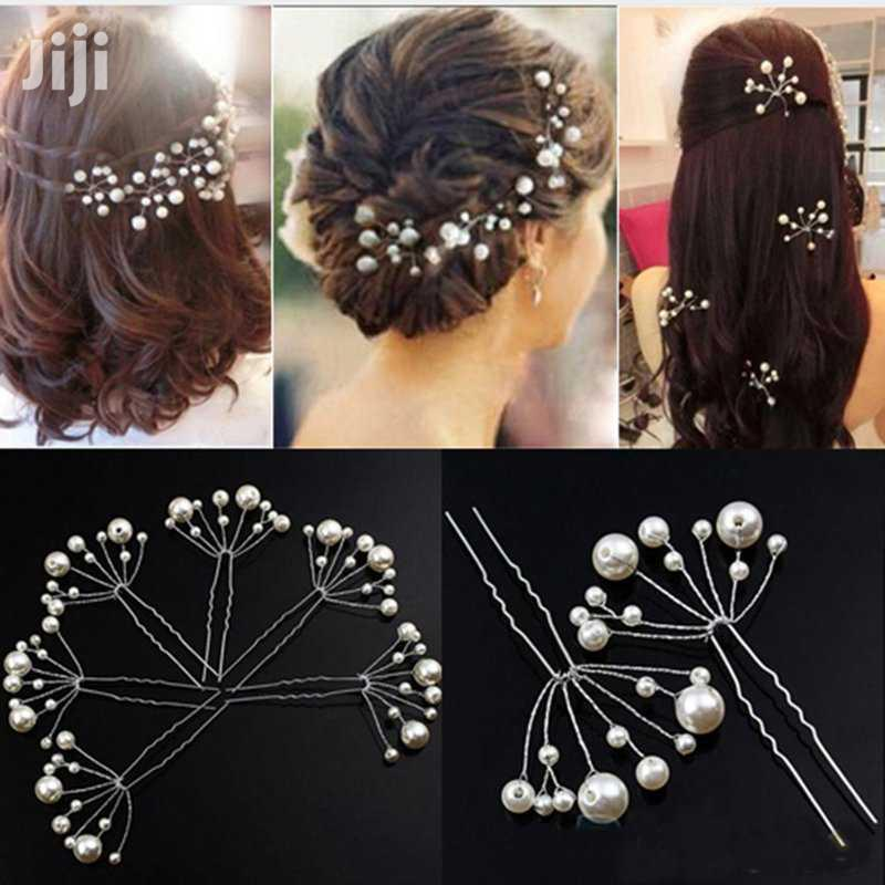 5pcs Simulate Pearly Hairpins | Hair Beauty for sale in Kampala, Central Region, Uganda