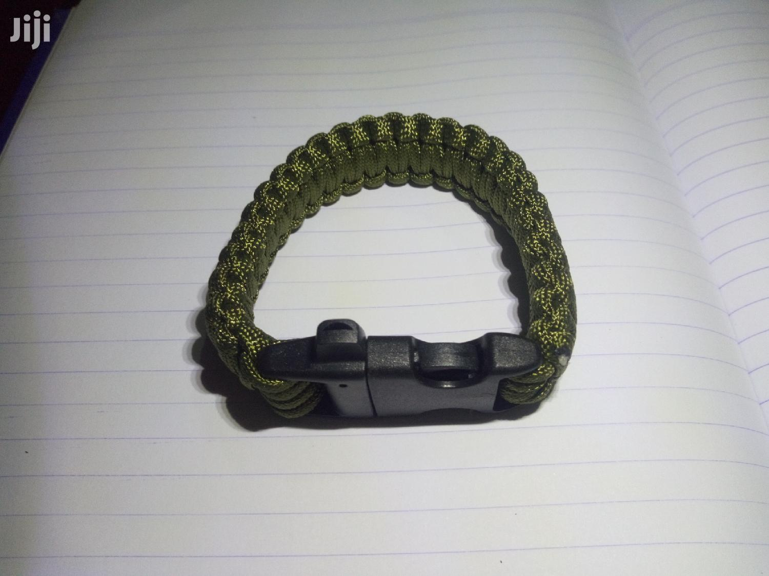 Rope Paracord Outdoor Survivalbraided Bracelet 18cmto4metres | Camping Gear for sale in Kampala, Central Region, Uganda