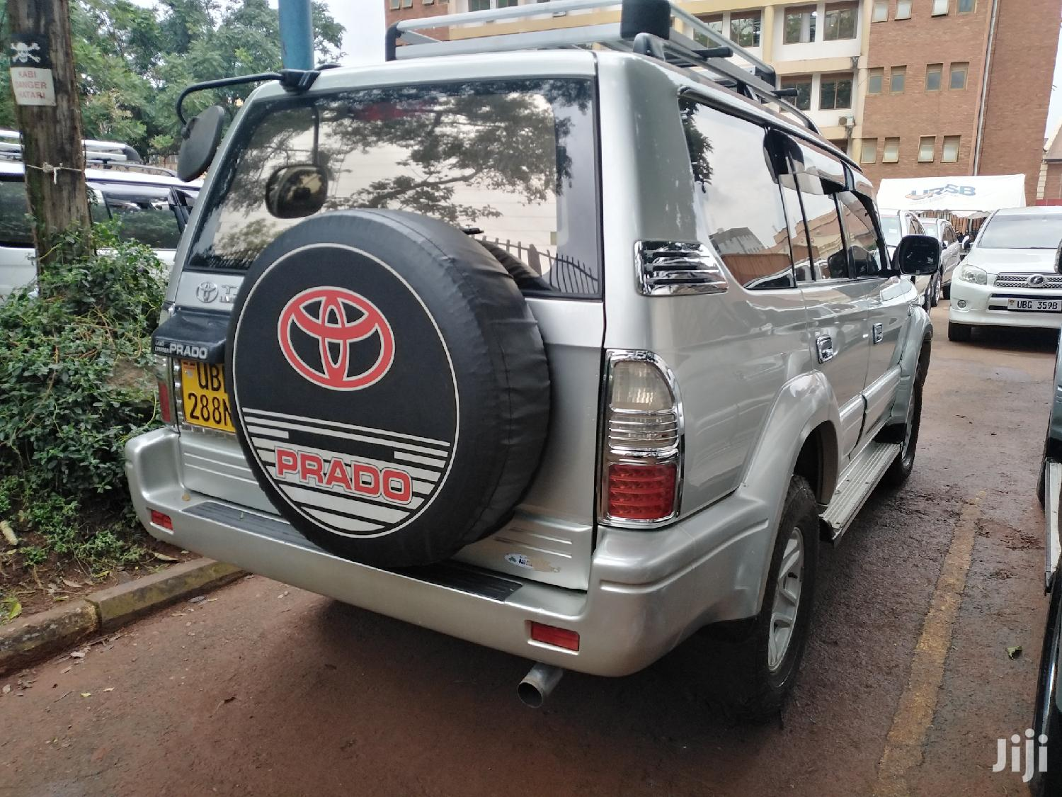 Archive: Toyota Land Cruiser 1999 Silver