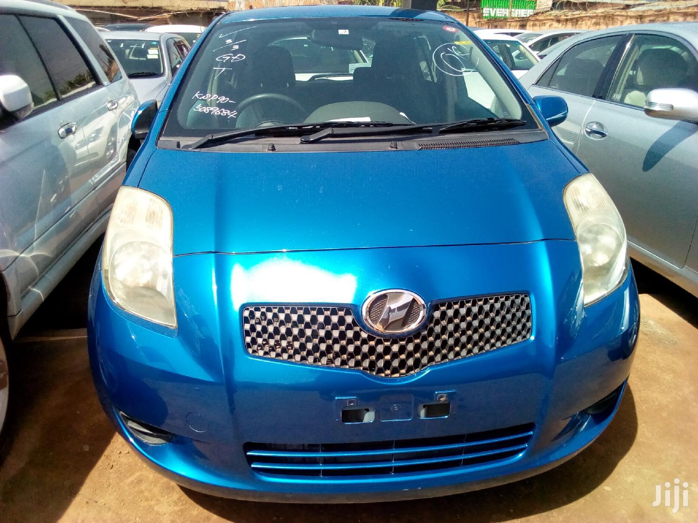 Toyota Vitz 2007 Blue | Cars for sale in Kampala, Central Region, Uganda
