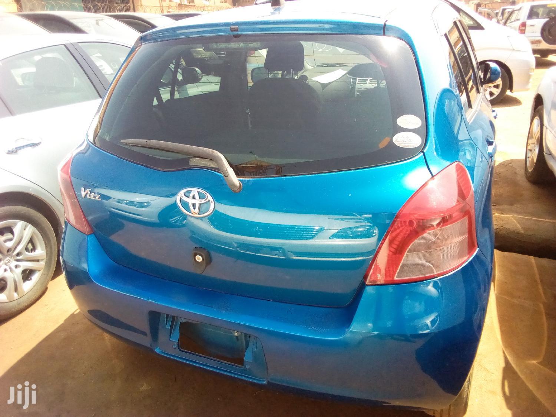 Archive: Toyota Vitz 2007 Blue