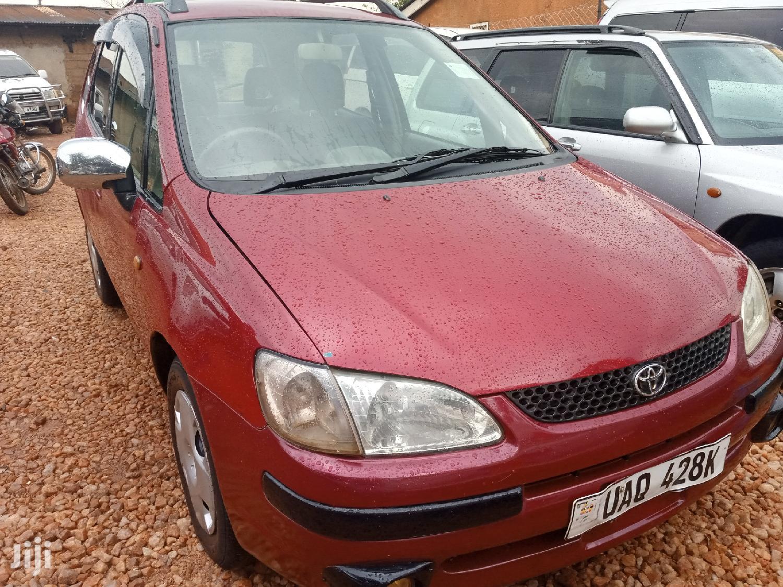 Toyota Spacio 1998 Red   Cars for sale in Kampala, Central Region, Uganda
