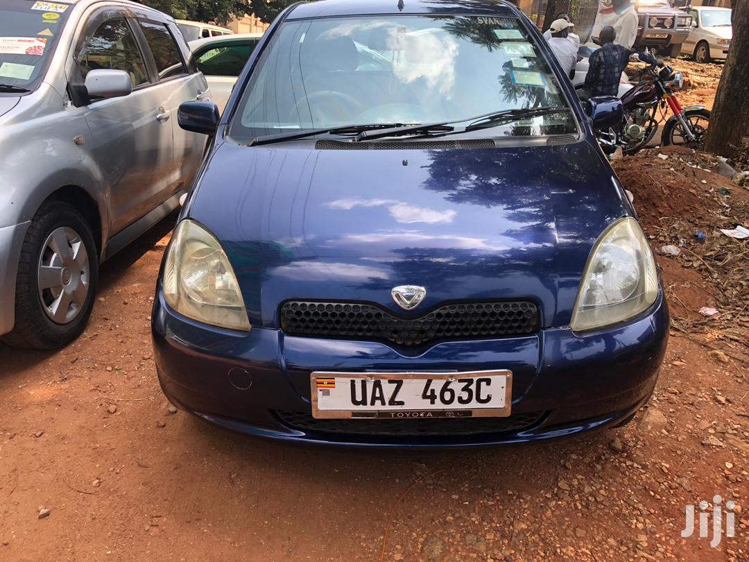 Toyota Vitz 1999 Blue