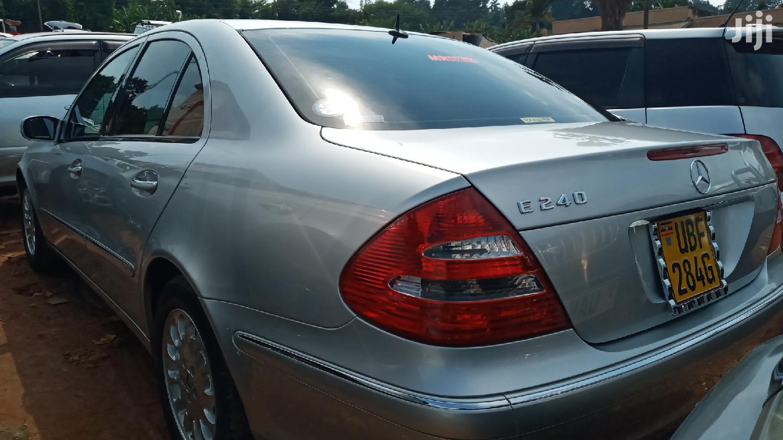 Archive: Mercedes-Benz E240 2004 Silver