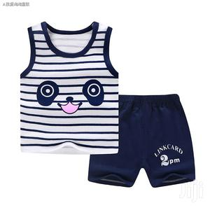 Baby Boys Top Vest And Short   Children's Clothing for sale in Central Region, Kampala