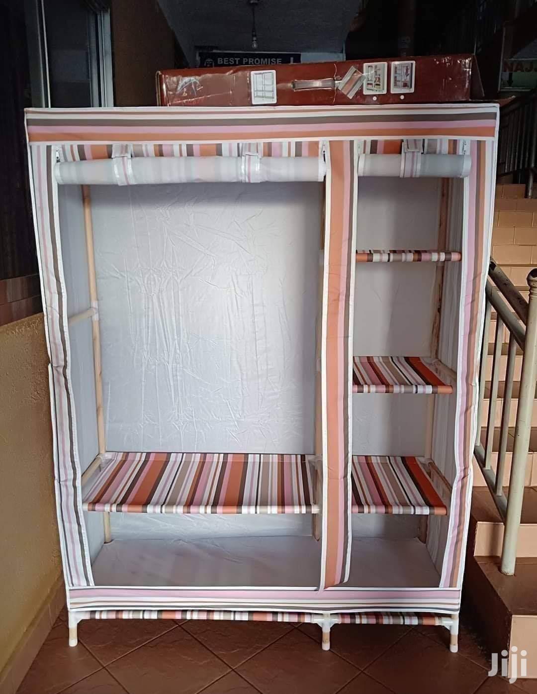 Fancy Double Wooden Wardrobe   Furniture for sale in Kampala, Central Region, Uganda