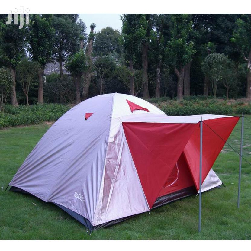 4 People Capacity Double Layer Camping Tent