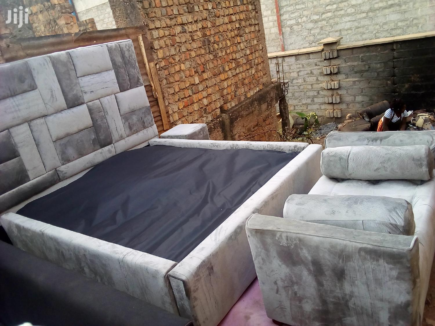 Qulity Bed 5by6   Furniture for sale in Wakiso, Central Region, Uganda