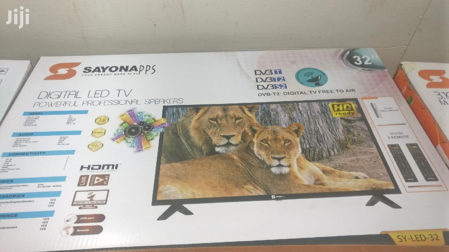 Sayona TV 32 Inches