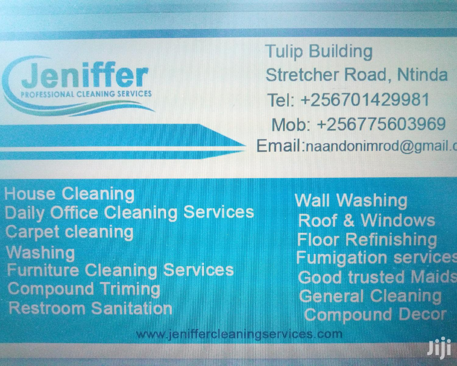 Jeniffer Rofessional Cleaning Services   Cleaning Services for sale in Kampala, Central Region, Uganda