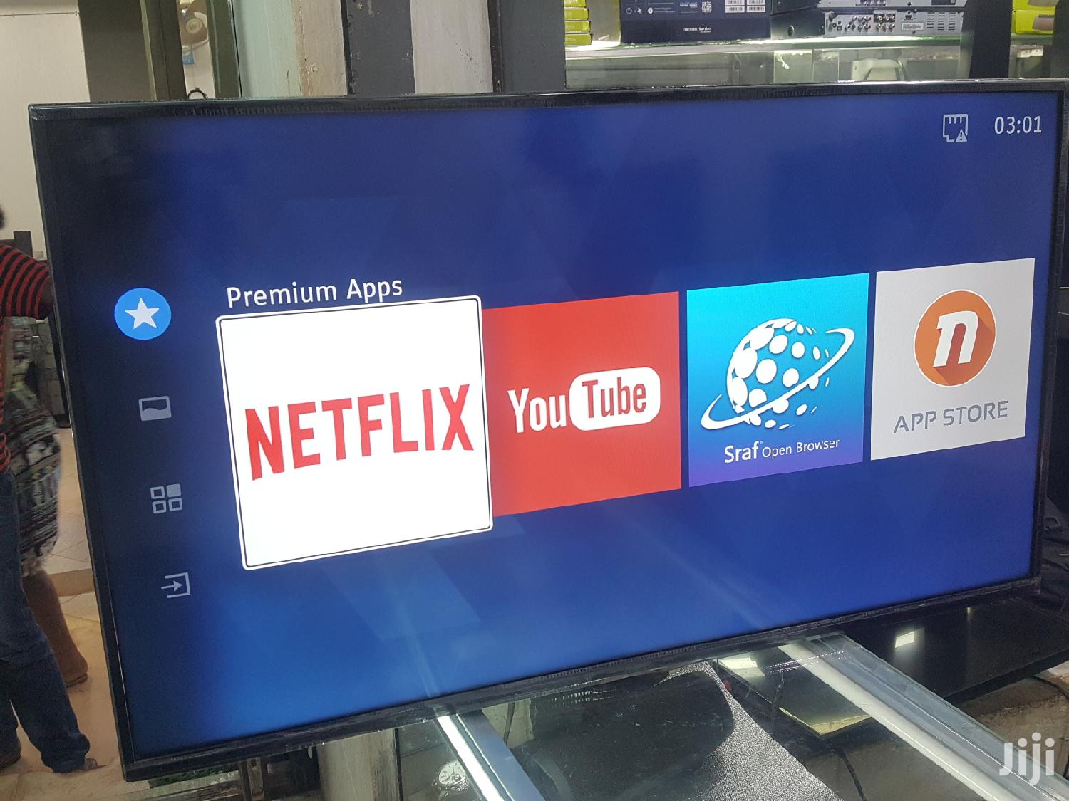 Dubai Used 43inches Hisense Smart LED TV