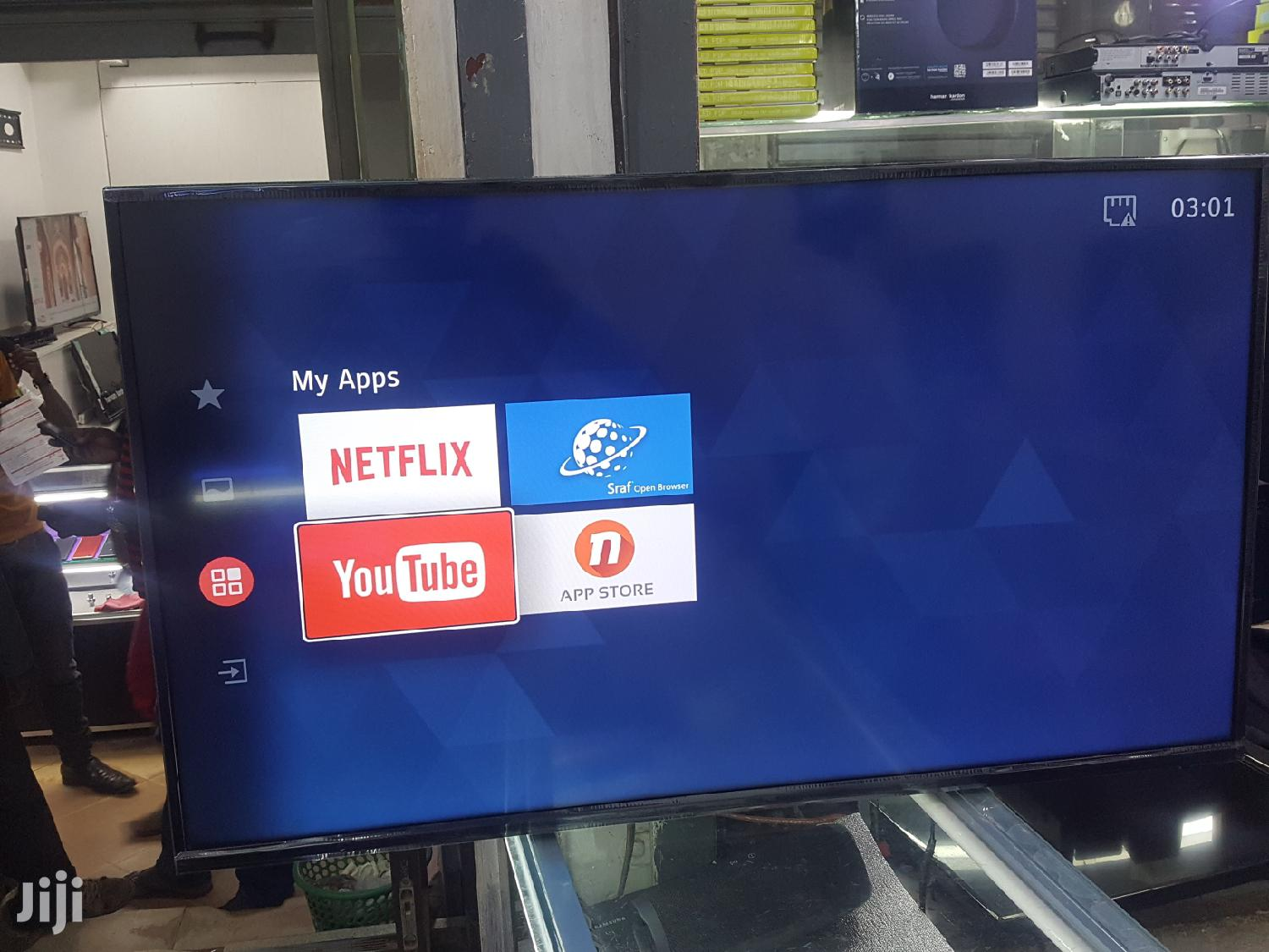 Dubai Used 43inches Hisense Smart LED TV | TV & DVD Equipment for sale in Kampala, Central Region, Uganda